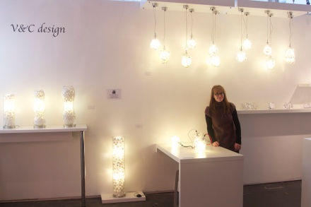 V&C design at 2013 London Design Week Design Junction F19a stand 12sqm